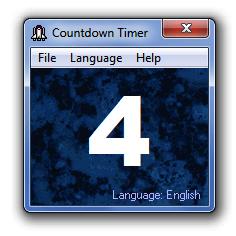 Countdown Timer Screenshot