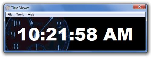 Time Viewer Screenshot